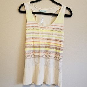 NWT Maurices Patterned Racer Back Tank Top